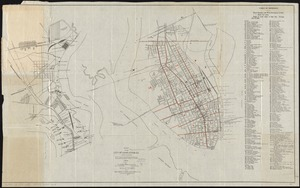 Map of the city of Charleston, S.C. and vicinity
