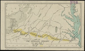 Map of the Virginian Railway