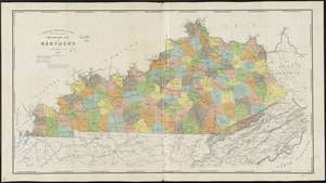 Preliminary map of Kentucky