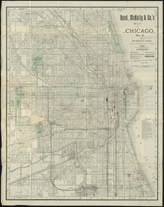 Rand McNally & Co.'s map of Chicago