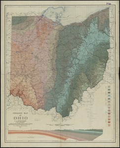 Geologic map of Ohio