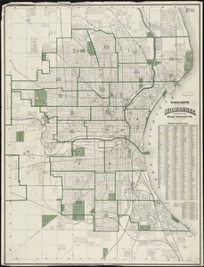 Wright's map of Milwaukee
