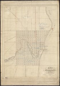 Map of the city of Sheboygan, Wisconsin showing all the recent improvements