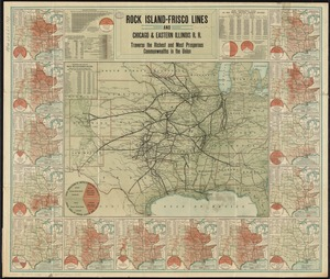 Rock Island-Frisco lines and Chicago & Eastern Illinois R.R