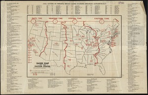 Radio map of the United States