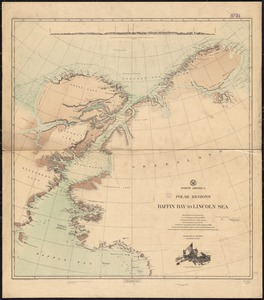 North America, polar regions, Baffin Bay to Lincoln Sea