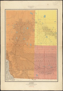 Alberta and western portions of Saskatchewan and Assiniboia