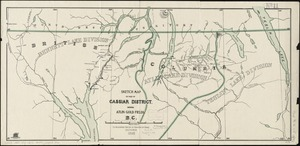 Sketch map of part of Cassiar District