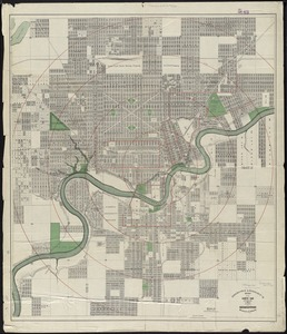 Driscoll & Knight's map of the City of Edmonton, Province of Alberta