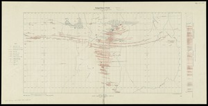 Plan and section, Mount Uniacke gold district, Hants Co., Nova Scotia