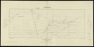 Plan and section, South Uniacke gold district, Hants and Halifax Counties, Nova Scotia