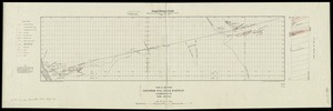 Plan and section, Cochran Hill gold district, Guysborough Co., Nova Scotia