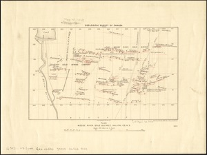 Plan Moose River gold district, Halifax Co., N.S