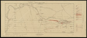 Plan and section, Fifteen-Mile Stream gold district, Halifax Co., N.S