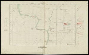 Plan and section, Gold River gold district, Lunenburg Co., Nova Scotia