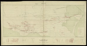 Plan and sections Wine Harbour gold district, Guysborough Co., Nova Scotia