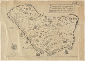 A topographicall description and admeasurement of the yland of Barbados in the West Indyaes