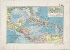 Map of Central America, Cuba, Porto Rico, and the islands of the Caribbean Sea