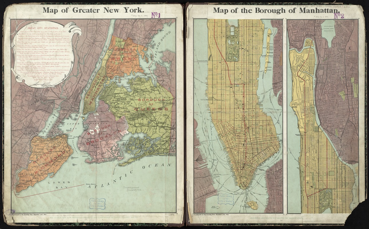 Map Of Greater New York City Area.Map Of Greater New York Norman B Leventhal Map Education Center