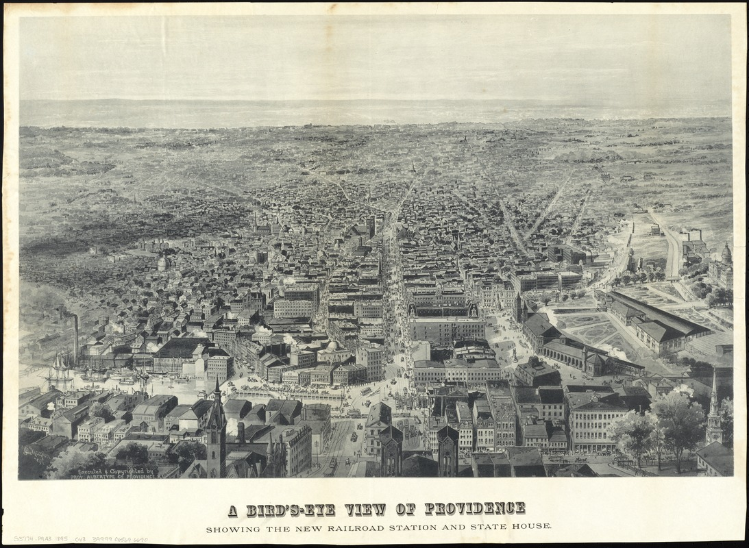 A bird's-eye view of Providence
