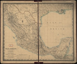 Map of Mexico, constructed from all available materials and corrected to 1862