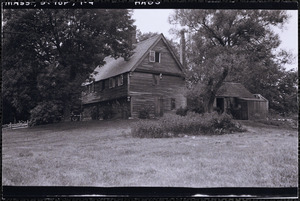 Parson Capen House with attached structures