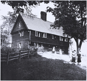 The Parson Capen House and the Captain Joseph Gould Barn