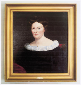 Portrait of Izannah White Capen