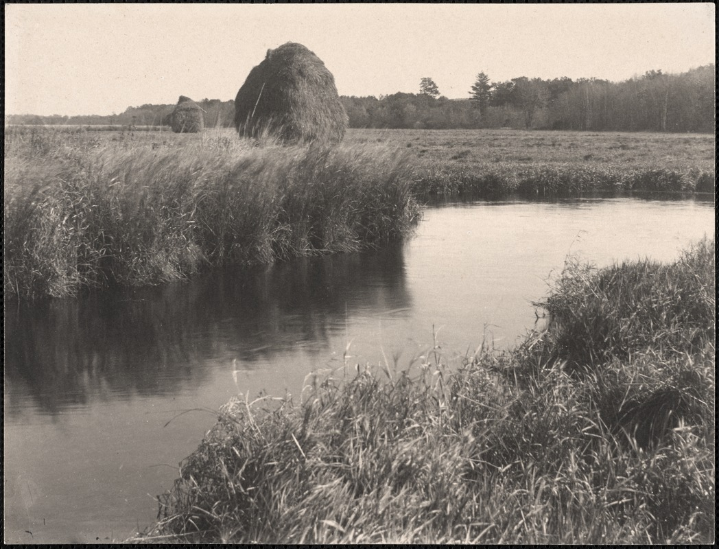Haystacks on the Sudbury River