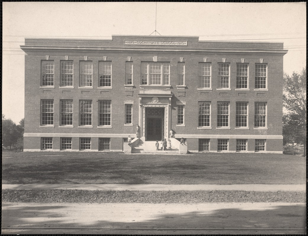 Cochituate School, opened 1911
