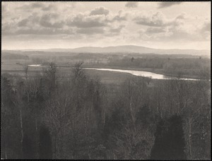 Sudbury River and Nobscot from the Five Paths