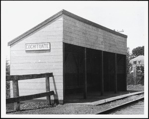 Cochituate Crossing, Commonwealth Road at Natick line