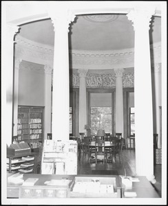 Wayland Library, round room