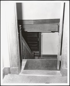 Wayland Library, stairwell