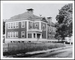 Second Wayland High School, built 1896