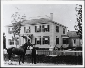 General Micah Maynard Rutter house and horse