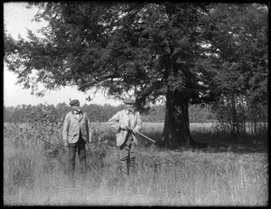 Two men hunting - William Pease
