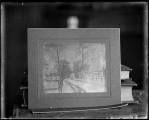 Photograph of picture