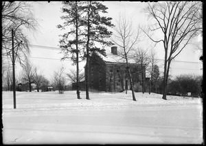 Samuel Booth house south west view Longmeadow St.