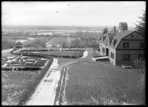 E. S. Brewer's, west from upper meadow