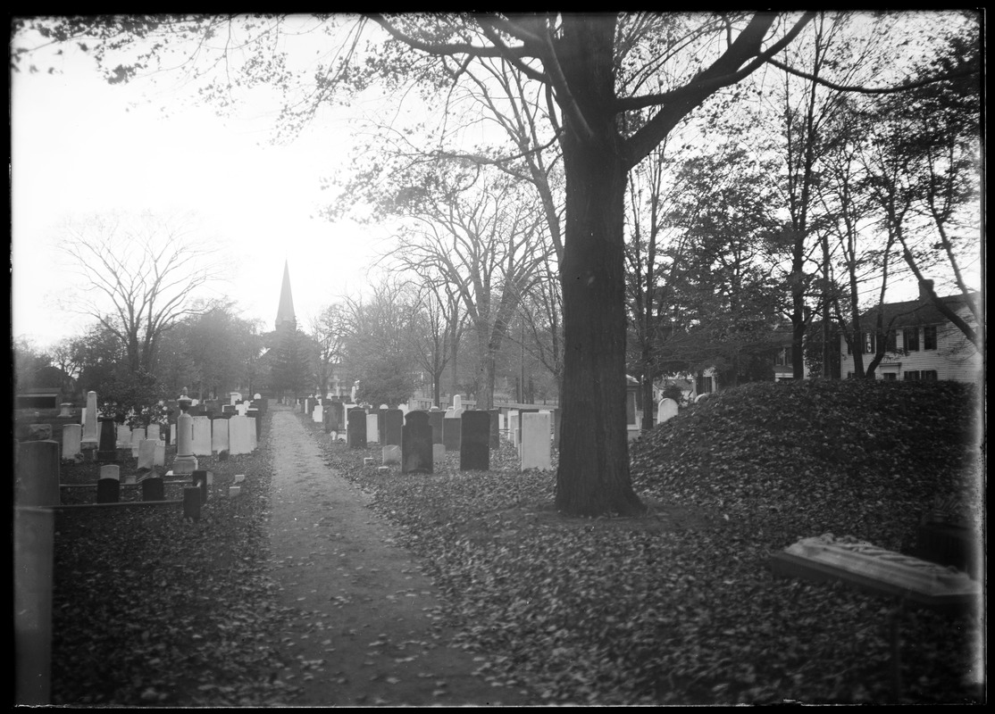 Cemetery and church