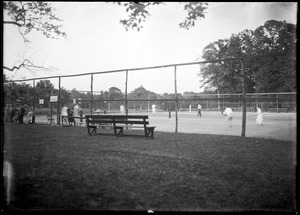 Storrs' tennis court, Longmeadow