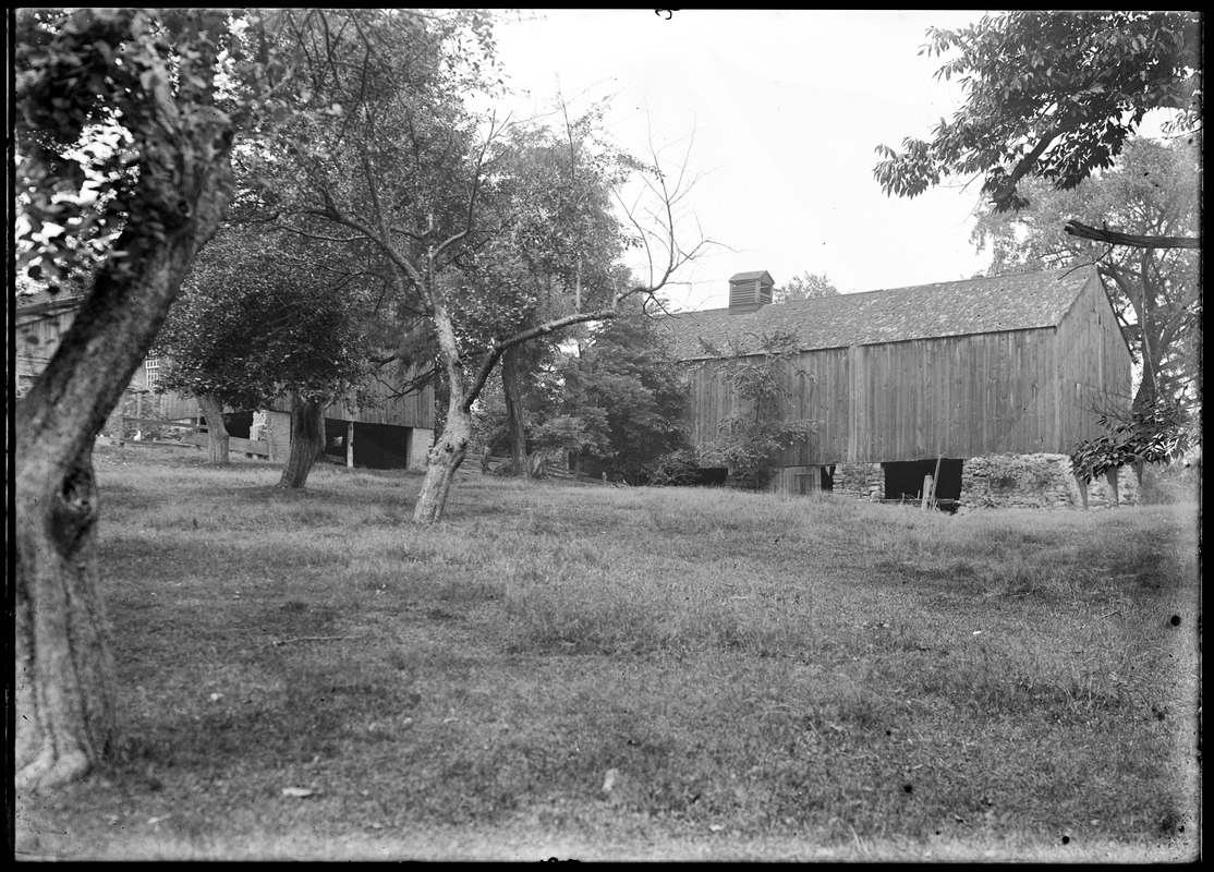 Alvah Colton 2 barns east of house