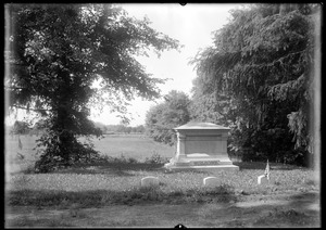 Wolcott, cemetery monument