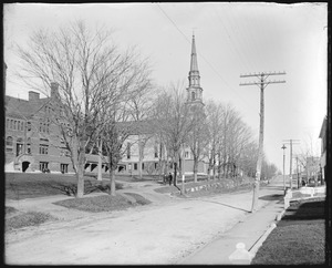 Congregational church east Main Street