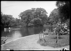 Lake, Public Garden, Boston