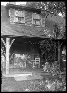 Front door, L. C. Fay house