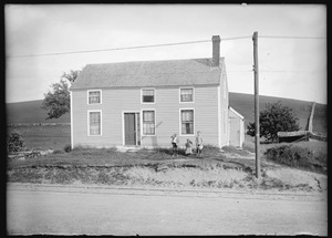 Clifton Bemis house on R. A. Sibley's farm