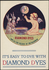 I's easy to dye with Diamond Dyes