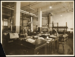 Chemical laboratory, print building
